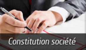 Constitution société